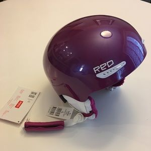 "Burton ""Red"" ski / snowboard helmet, pink, large"